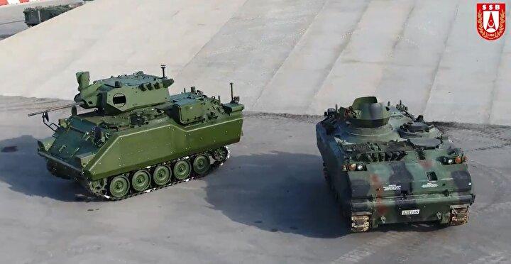 Bir yandan yeni platformlar, diğer yandan modernizasyonlar. Kara Kuvvetleri Komutanlığı (KKK) için başlattığımız Zırhlı Muharebe Aracı Modernizasyon Projemizde, Aselsan-FNSS iş birliğinde yoğun bir tasarım ve entegrasyon çalışmasıyla ilk prototip ZMA aracının modernizasyonu tamamlandı.