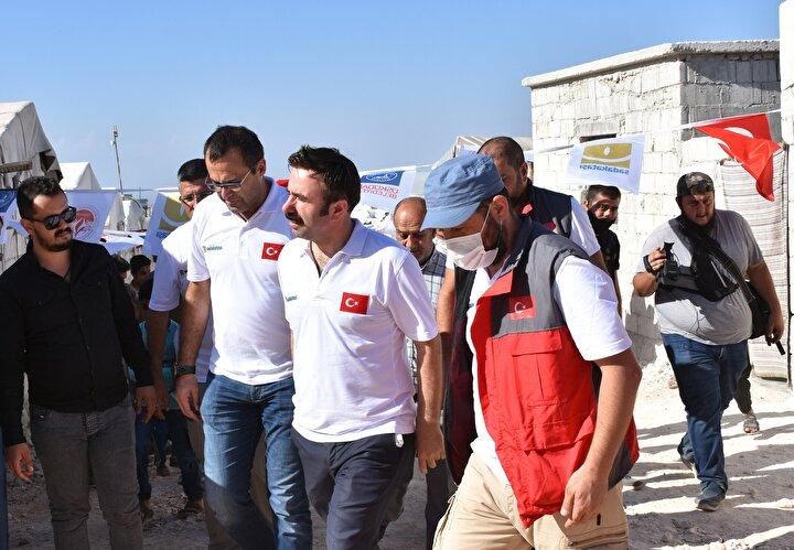 Yapımı yaklaşık 3 ay süren proje kapsamında 810 sivil, briket ev sahibi oldu.