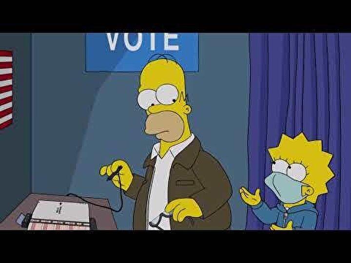 Varietynin yayımladığı bir fragmana göre, 18 Ekimde yayımlanacak bu senenin bölümü, Homer Simpsonla birlikte sandığa gidecek.