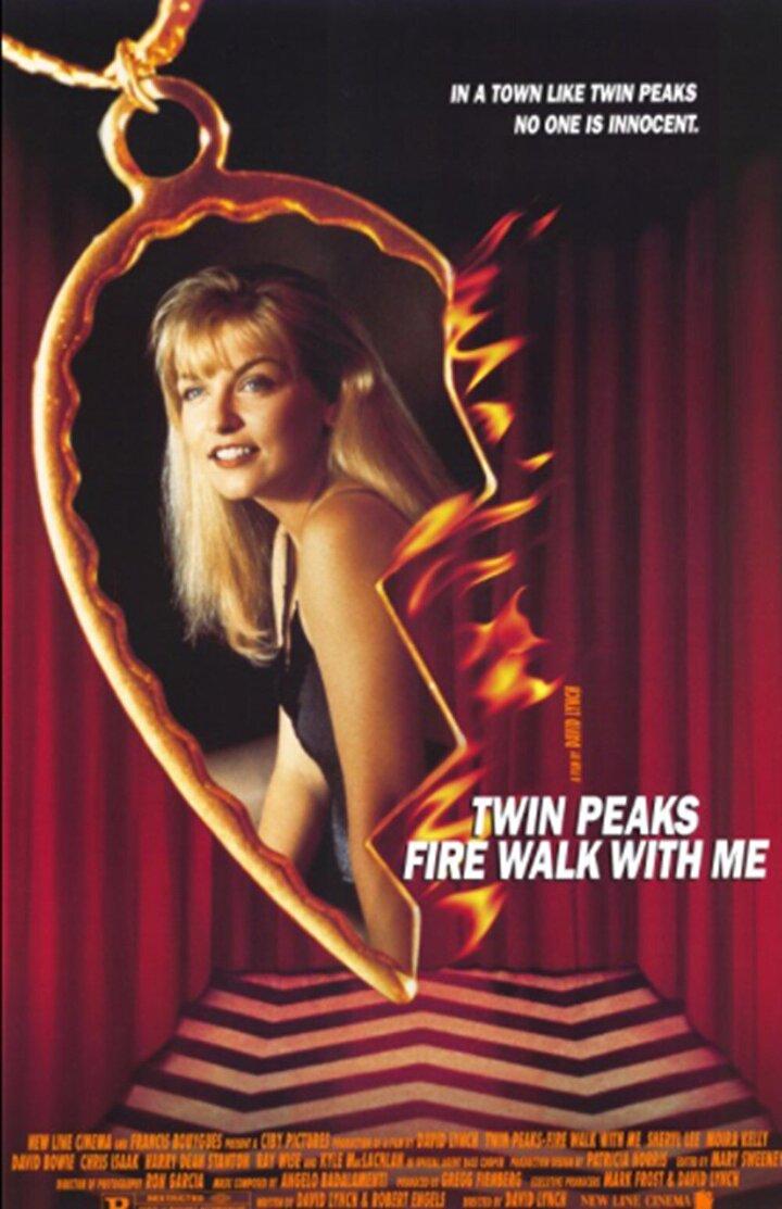 İkiz Tepeler: Ateşte Benimle YürüSheryl Lee, Ray Wise, Madchen Amick, Heather Graham ve Dana Ashbrookun başrollerinde yer aldığı David Lynchin 1992 yapımı filmi İkiz Tepeler: Ateşte Benimle Yürü yeniden izleyici karşısına çıkacak.