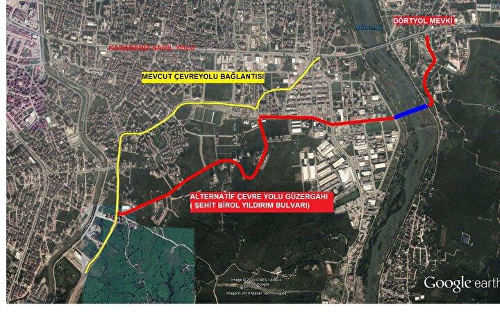 Karadenizde Sahil Yolunun deniz dolgusu ile geçirilmediği tek il olan Orduda, 2007 yılında çevre yolu için çalışma başlatıldı. Çevre yolu ihalesi, 553 milyon TLye yapılarak, 2012 yılının Temmuz ayında temeli atıldı. Toplam uzunluğu 21,4 kilometre olan yolun ilk etabını oluşturan 10,7 kilometrenin 500 metrelik kısmında oluşan heyelan ise çalışmaları aksattı. Bölgede toplam 75 kilometre uzunluğunda fore kazıklar çakılarak, heyelan için önlem alındı.