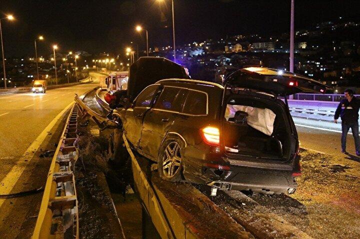 Ekipler tarafından alınan güvenlik önlemlerinin ardından yol tek şeritten trafiğe açıldı.