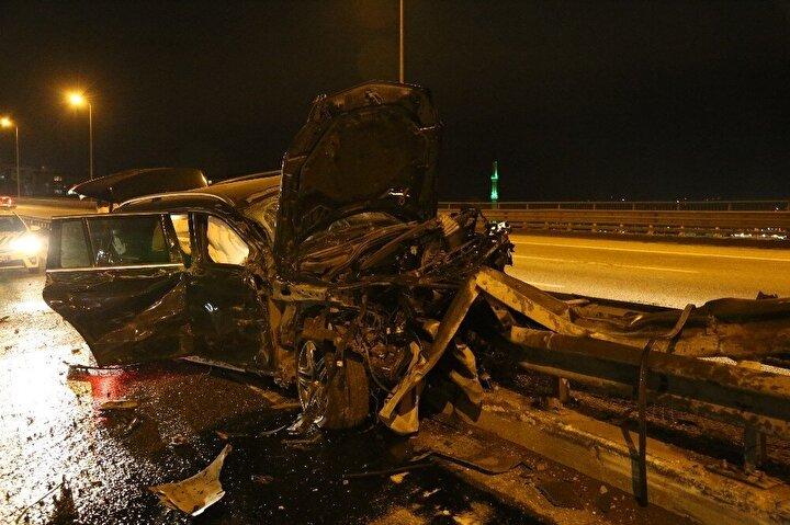 Olay yerine intikal eden polis ekipleri tarafından TEM Otoyolu'nun İstanbul istikameti kontrollü olarak trafiğe kapatıldı.