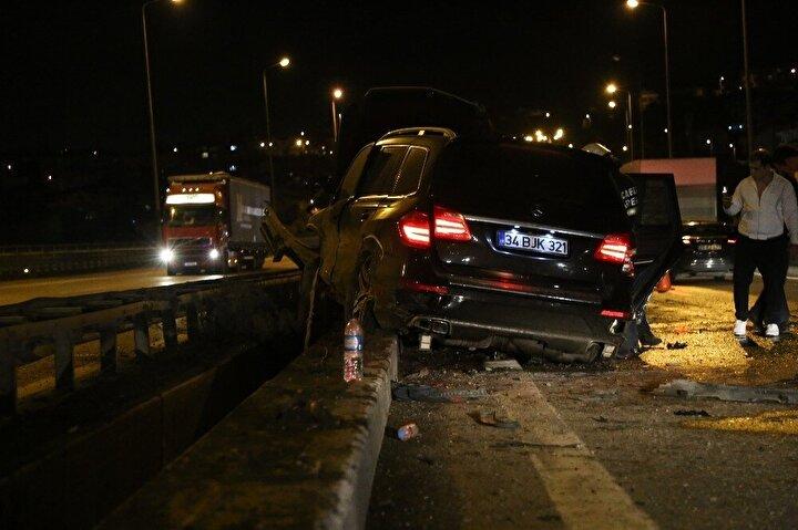 Polis ekipleri kazayla ilgili inceleme başlattı.