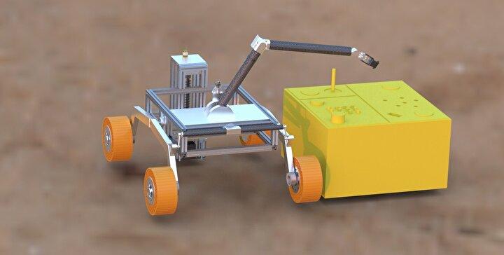 ODTÜlü öğrencilerin tasarladığı uzay keşif aracı, Avrupada ödüle layık görüldü.