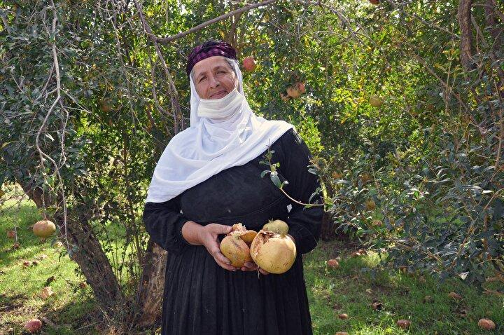 20 yıl önce eşi Fethinin geçirdiği kalp krizinden yaşamını yitirdiğini anlatan Durmaz, ardından çiftçiliğe başladığını söyledi.