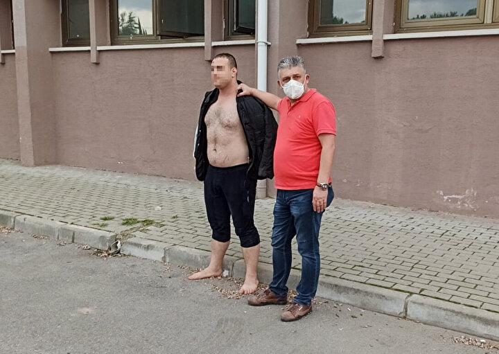 Polis, şüpheli Yusuf M.'yi yakalayarak, gözaltına aldı. Spor salonunda yaklaşık 30 bin lira zarar olduğu bildirildi.