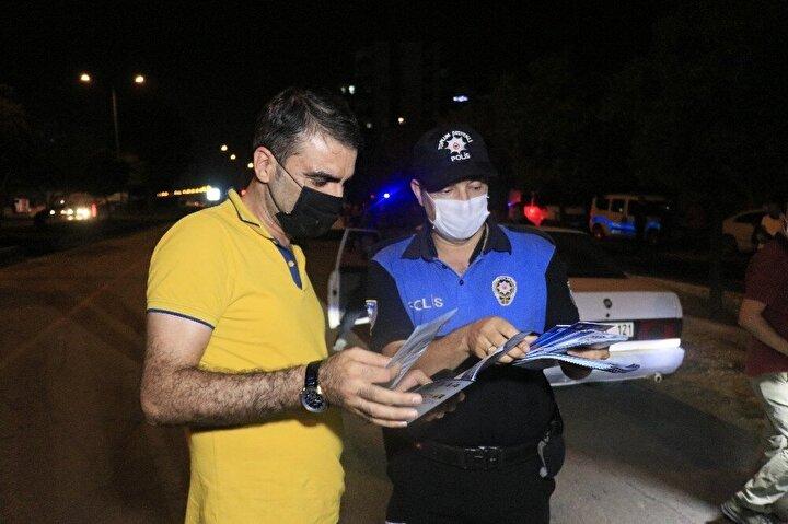 Adana'da hava destekli 2 bin 20 polisle huzur ve güven uygulaması düzenlendi.