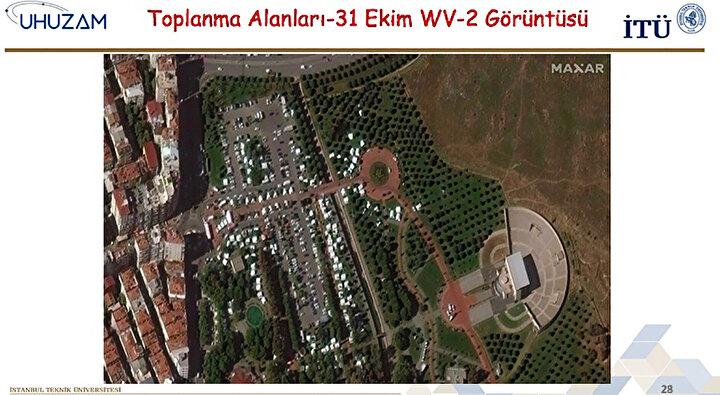 Türkiyenin ilk uydu yer gözlem istasyonu ve en geniş uydu görüntüsü arşivine sahip İTÜ UHUZAM, depremin İzmir ve çevresinde yarattığı yıkımı görüntülemek için gerekli planlama ve uydu programlamalarını yaparak harekete geçti.