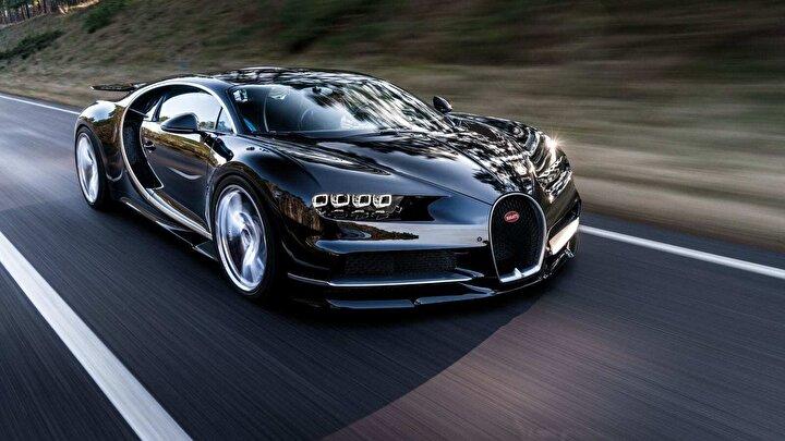 2020 model Bugatti Chiron
