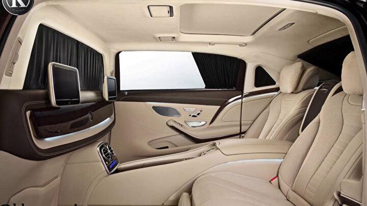 2020 model Mercedes - Benz -  Maybach S 650