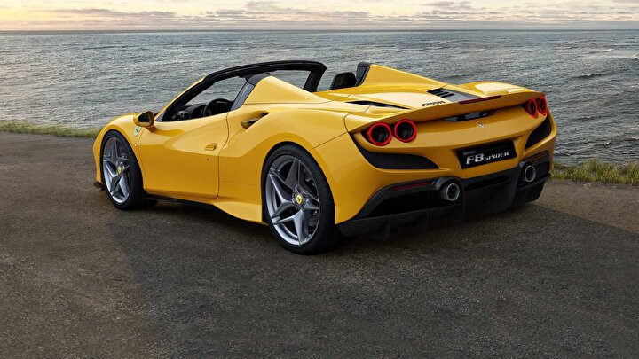 2020 model Ferrari -  F8 Spider