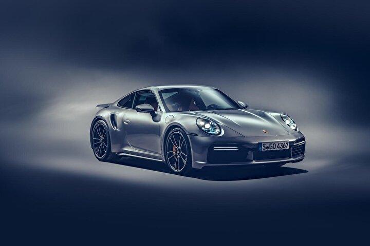 2020 model Porsche 911 Turbo S