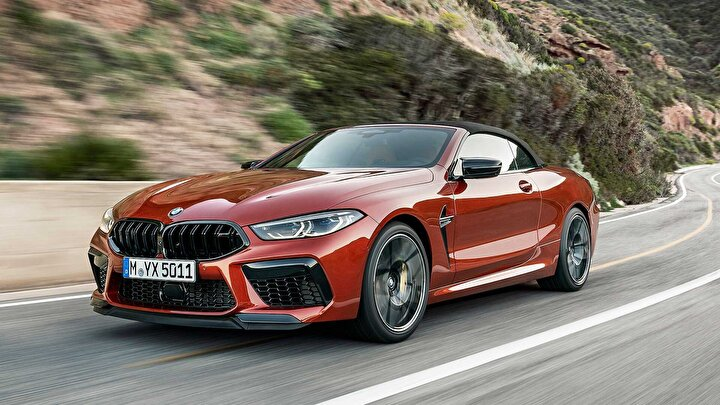 2020 model BMW M8 Coupe xDrive Competition