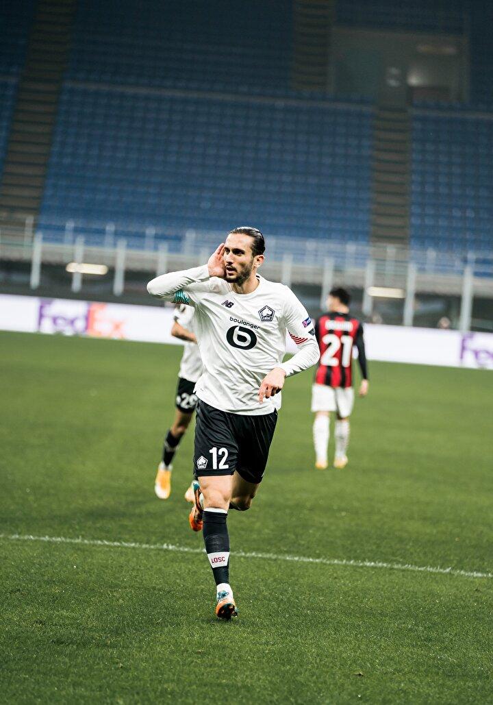 L'Equipe: Lille ve Yusuf Yazıcı, Milan'ı ezdi. Yazıcı'nın hat-trick yapması Zlatan Ibrahimovic'i üzdü.