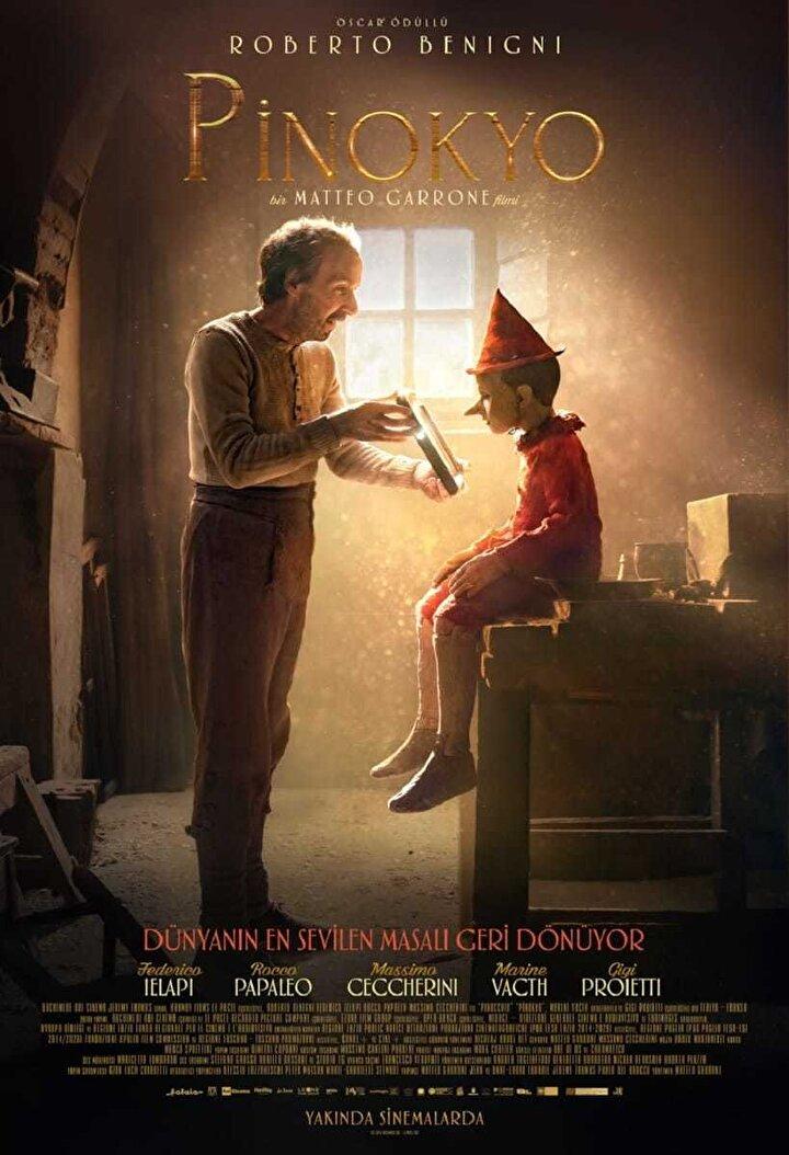 Gomorra, Tale of Tales ve Dogman gibi yapımlarla adından söz ettiren İtalyan sinemacı Matteo Garrone, Carlo Collodinin klasik çocuk masalı Pinokyoyu canlı çekimle yeniden sinema perdesine taşıyor.