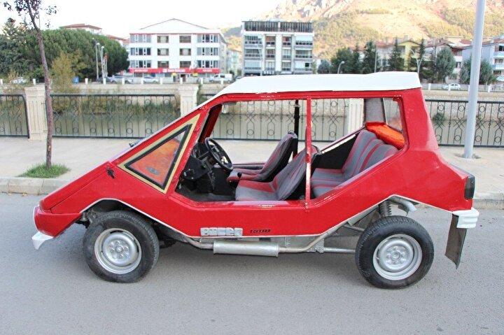 Amasya'da bulunan 1975 model 'Anadol Böcek' marka/model klasik otomobil sahibi tarafından satışa çıkarıldı.