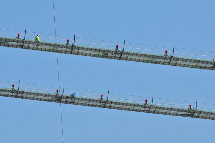 Köprü projesi, Türkiye'nin ulaşım altyapısında geleceğe atılmış en önemli adımlardan birisi olarak gösteriliyor. Cumhuriyet'in yüzüncü yılı olan 2023'e atıfta bulunan 1915 Çanakkale Köprüsü, yapımı tamamlandığında, 2023 metre orta açıklığı ile sınıfında dünya lideri olacak.