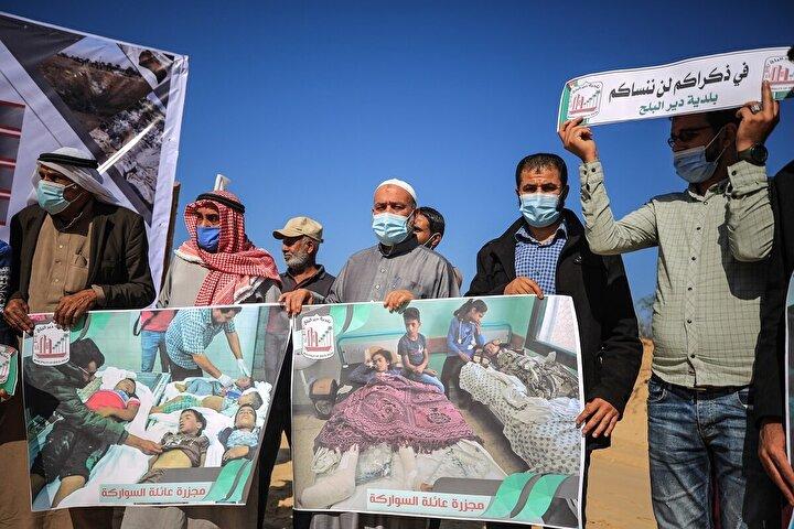 İsrail ordusu, birkaç gün sonra Deyr Belah bölgesine düzenlediği saldırıda ise Sevarika ailesinden 6sı çocuk 9 kişi yaşamını yitirmişti. Söz konusu saldırılarda 8i çocuk, 3ü kadın 34 Filistinli hayatını kaybetmiş, 111i yaralanmıştı.