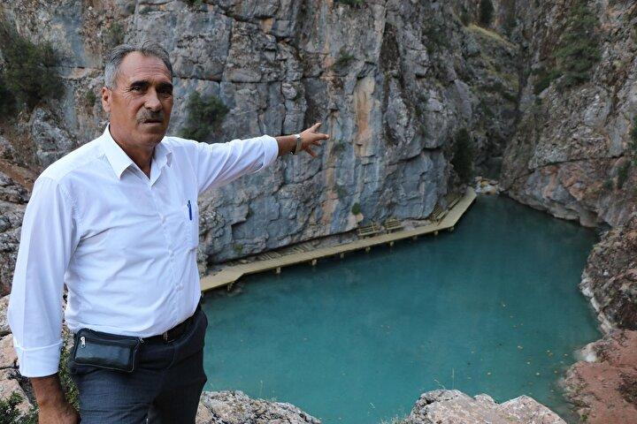 Kanyondaki inşaat çalışmalarını yürüten firmanın sahibi Mehmet Demirtaş, kanyonun gizli kalmış bir cennet olduğunu ifade edip, Kanyon keşfedildikten sonra Acıpayam Belediyesi projelendirdi ve turizme kazandırılması için çalışmalara başladık. Doğal dokuya zarar vermeden canlılık katarak yapıyoruz.