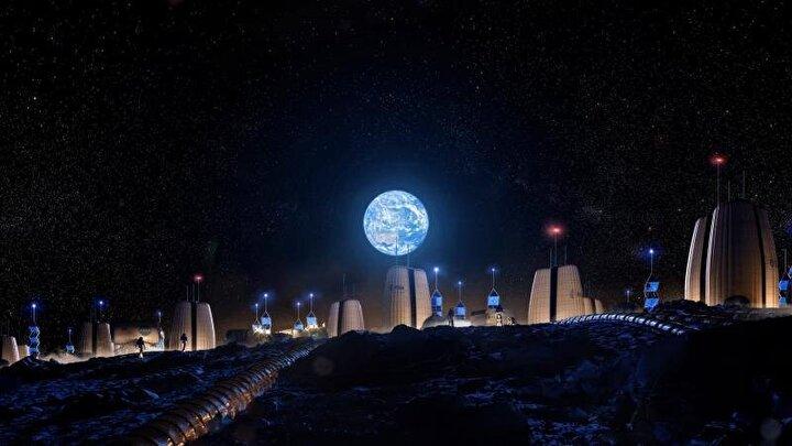 """Avrupa Uzay Ajansında (ESA) danışman Aidan Cowley konuya ilişkin yaptığı açıklamada, """"Bu olmalı çünkü Ayın, Marsın veya bunun ötesinde herhangi bir şeyin keşfi konusunda gerçekten ciddiysek bu çok yakında ustalaşmamız gereken teknolojidir ifadelerini kullandı. Koruyucu tuğlalar yapmak için pudra şekeri kadar ince olan Ay toprağı regoliti kullanma planlarına liderlik eden Cowleynin, astronotların yaşayacağı silindir şeklindeki yapıların on yıl içinde inşa edilmeye başlanacağına inandığı ve yapıların astronotları radyasyona maruz kalmaya karşı korumaları gerektiğine inandığı ifade edildi."""