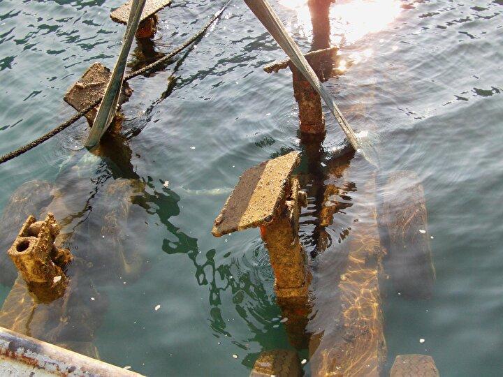 Deniz dibinden çıkanlar, görenlere Yok artık dedirtti.