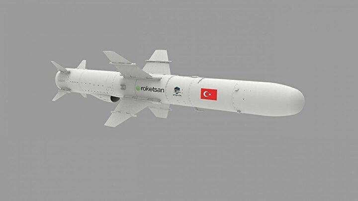 Yakın bir zamanda seri üretim sürecinin başladığı füze, Gemisavar Füze Sistemi envanterindeki Harpoon Füze sisteminin yerini alacak.