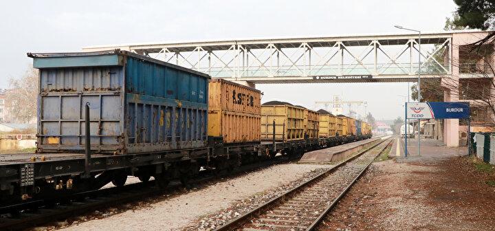 Burdur Tren Garı eski günlerini arıyor