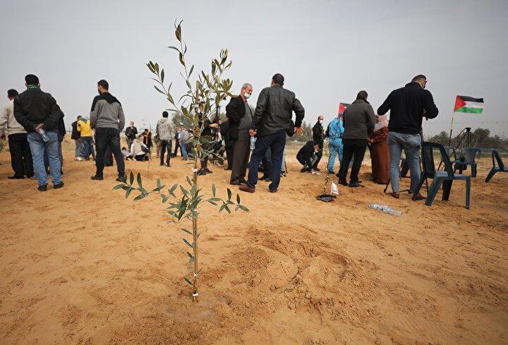 """Filistinliler her yıl 7 Ocak gününü """"Filistinli Şehit Günü olarak anıyor."""