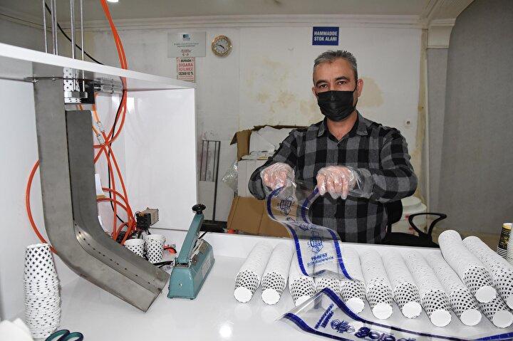 Tavşanlı ilçesinde yaşayan evli ve 3 çocuk babası Murat Yıldız, Bursa'da 13 yıldır çalıştığı otomobil fabrikasından ayrılarak, memleketinde karton bardak fabrikası kurdu.