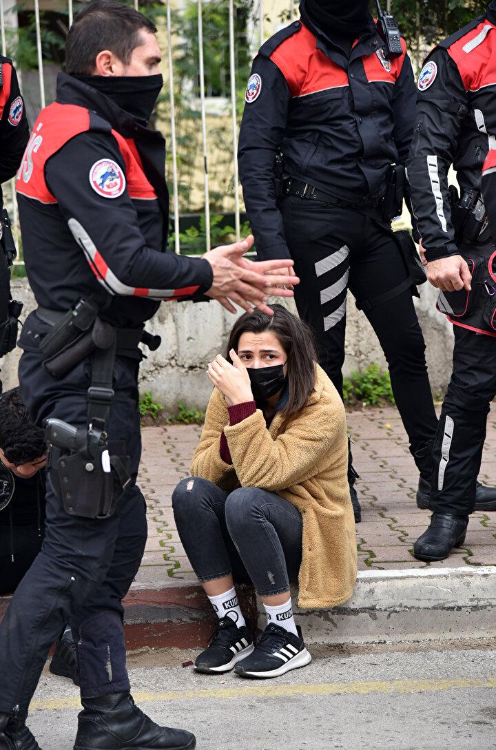 Polisin dur uyarısını dikkate almayan Mertcan Çolaki yoluna devam etti, polis ekipleri de peşlerine düştü.