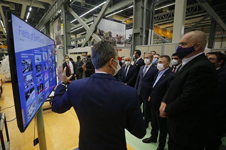 Konuk Başbakan, ASELSAN ziyaretinin ardından Türkiyeden ayrıldı.