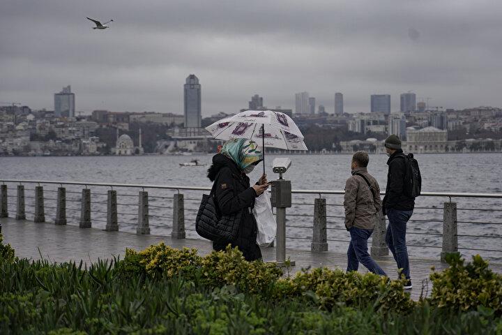 Meteorolojinin 5 günlük İstanbulun hava durumu raporu güncellendi.