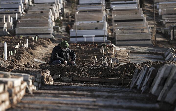 Ankarada Kovid-19 nedeniyle hayatını kaybedenlere yönelik oluşturduğu özel ekiple, Karşıyaka, Sincan Cimşit ve Mamak Ortaköy mezarlıklarında, özel gasilhaneler ve defin alanlarıyla hizmet veriyor.