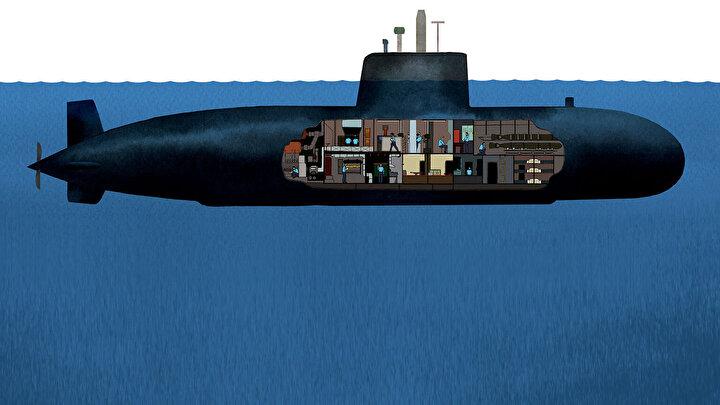 Hidrojen Yakıt Hücresi Teknolojisi ile geliştirilen denizaltılar bu özellikleri sayesinde su sathına çıkmaksızın 21 gün kesintisiz denizaltında hareket edebiliyor.