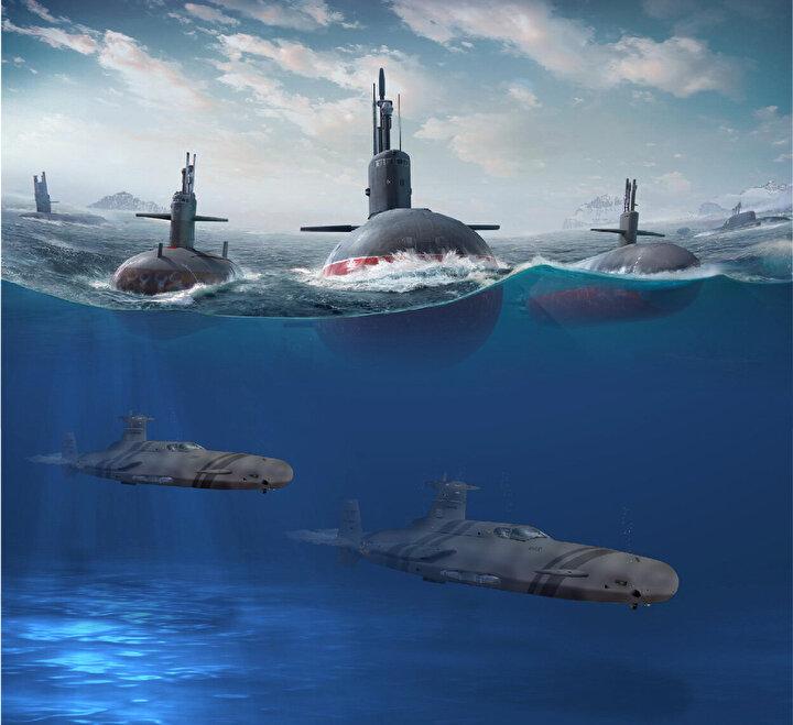 Denizaltı Savunma Harbi için kritik öneme sahip olan düşük sesli seyir yeteneğine sahip olan denizaltı gemileri;  68 metre uzunluğa, 13 metre yüksekliğe, 1.690 ton yüzey deplasmanına, 20kt+ azami hıza, azami 1250 deniz mili menzile, 260 metre görev derinliğine sahip iken, 27 kişilik mürettebat kapasitesi ile 84 gün de görev icra edebiliyor.