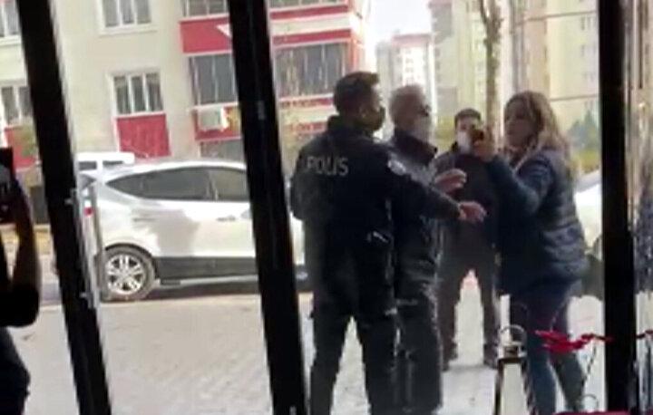 Hem maske takmamaktan 900 lira idari para cezası yazılan hem de polise mukavemet göstermekten adli işlem yapılan Gülcan Ç.ye CİMERden de yanıt gelmişti.