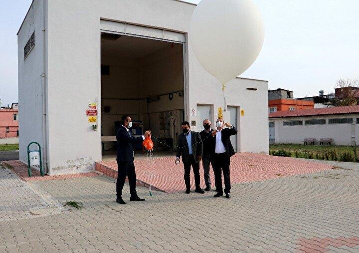 Meteoroloji Genel Müdürlüğünün, Ankara, Isparta, Samsun, İstanbul, İzmir, Adana, Diyarbakır, Erzurum ve Kayserideki istasyonlarından günde 18 balon gökyüzüne bırakılarak basınç, sıcaklık, nem ve rüzgar bilgileri alınıyor.
