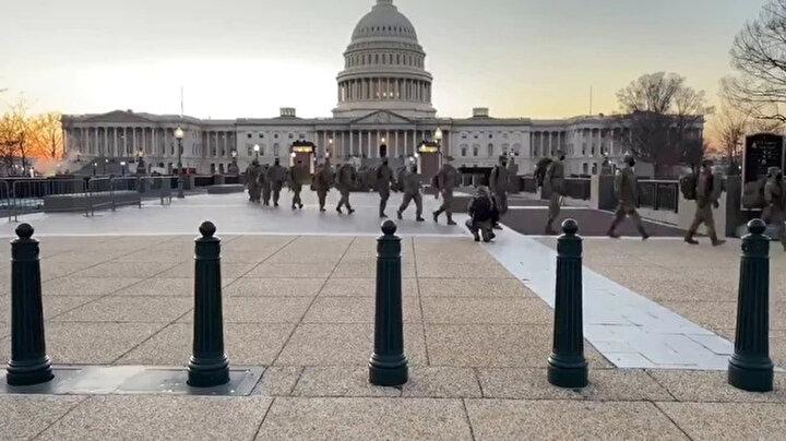 Trumpı destekleyen on binlerce gösterici 6 Ocakta Washingtondaki Ulusal Parkta toplanmış ve ABD Kongresine yürümüştü.