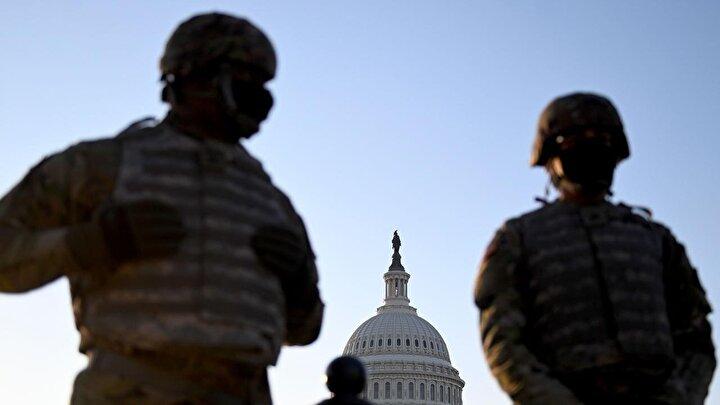 Ulusal Muhafız Bürosu Yetkilisi General Daniel Hokanson, düzenlediği basın toplantısında, Washington DCdeki görevli Ulusal Muhafız sayısını 15 bine çıkarabileceklerini açıkladı.