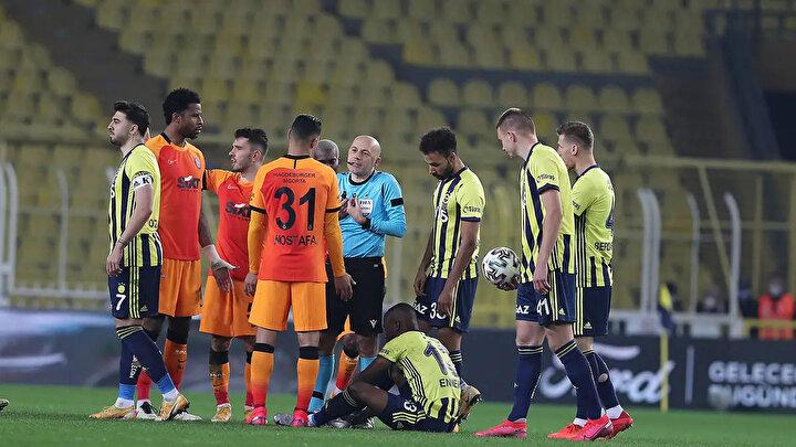 Süper Ligde 24. haftada oynanan derbi Galatasarayın 1-0lık üstünlüğüyle sona erdi.