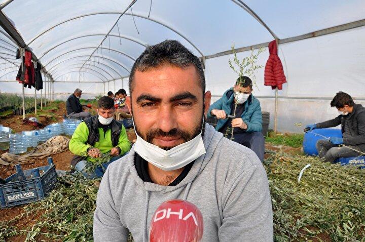 Derik ilçesinde yaşayan, 1 çocuk babası Davut Ufak, 9 yıl önce Artuklu Üniversitesi Ziraat Meslek Yüksekokulu Bahçe Bitkileri Bölümünden mezun oldu.