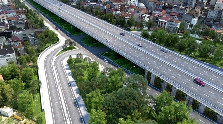 Trabzona değer katacak projenin ihalesi kapsamında bugüne kadar yapılan hem yol hem de diğer çalışmalarla birlikte yüzde 60 fiziksel gerçekleşme sağlandı. Yolun geriye kalan 13,5 kilometrelik kesiminde ise çalışmalar devam ediyor.