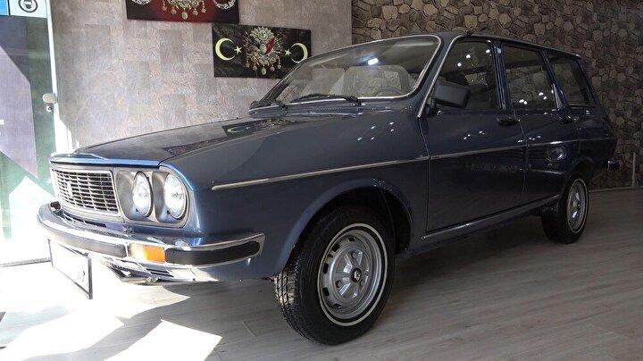 Diğer bir otomobil ise 1987 model Renault.