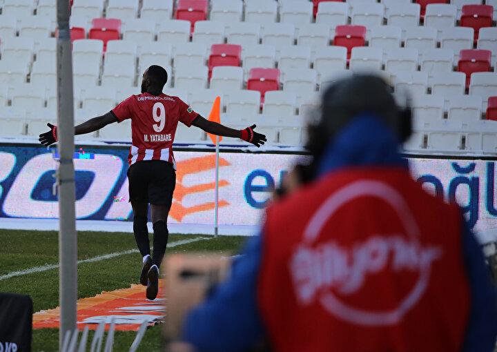 Yatabare (Sivasspor): 8.1 puan