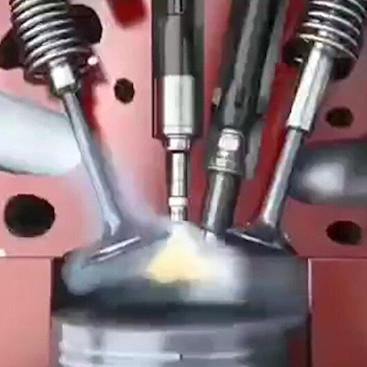İçten yanmalı motorların çalışma prensibi