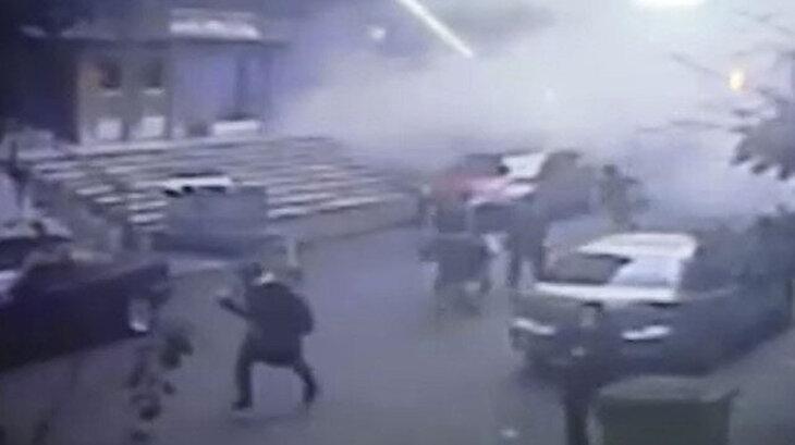 Kartal'daki binanın 'çökme anı' güvenlik kamerasında