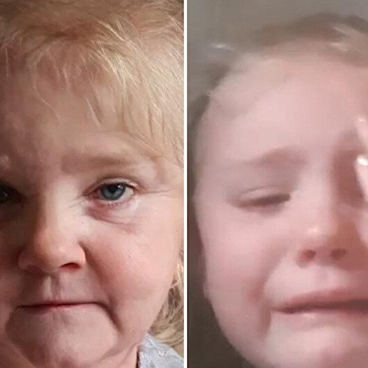 FaceApp uygulamasında yaşlandırılmış fotoğrafını görünce gözyaşlarına boğuldu