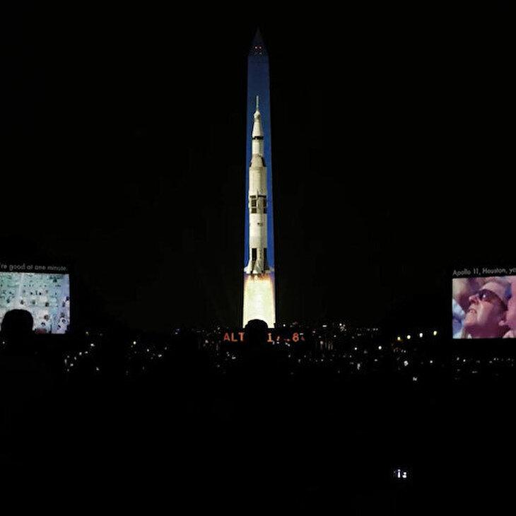 Apollo 11'in Ay'a inişinin 50'nci yıl kutlamaları