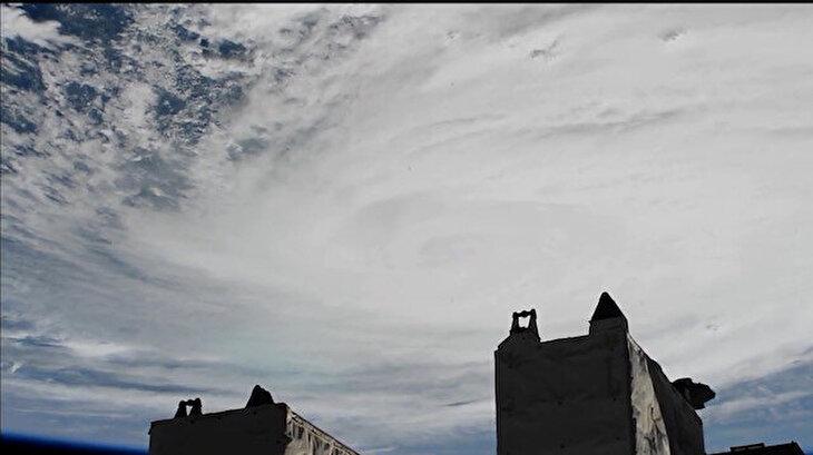 NASA, Dorian Kasırgası'nı uzaydan canlı yayınladı